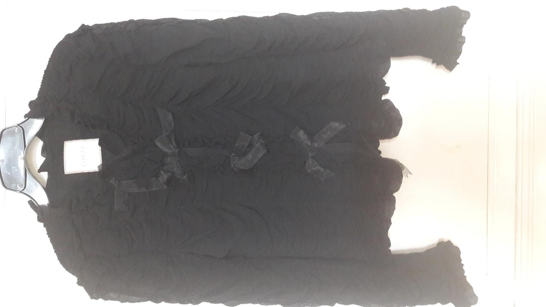 쉬폰주름블라우스