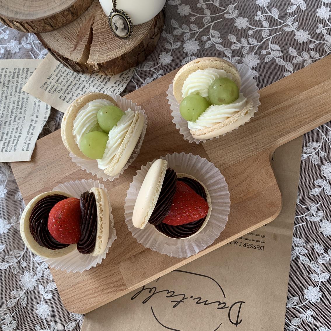 수제마카롱&떡케이크 단테이블