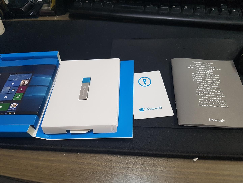 윈도우10 home USB 제품키 포함