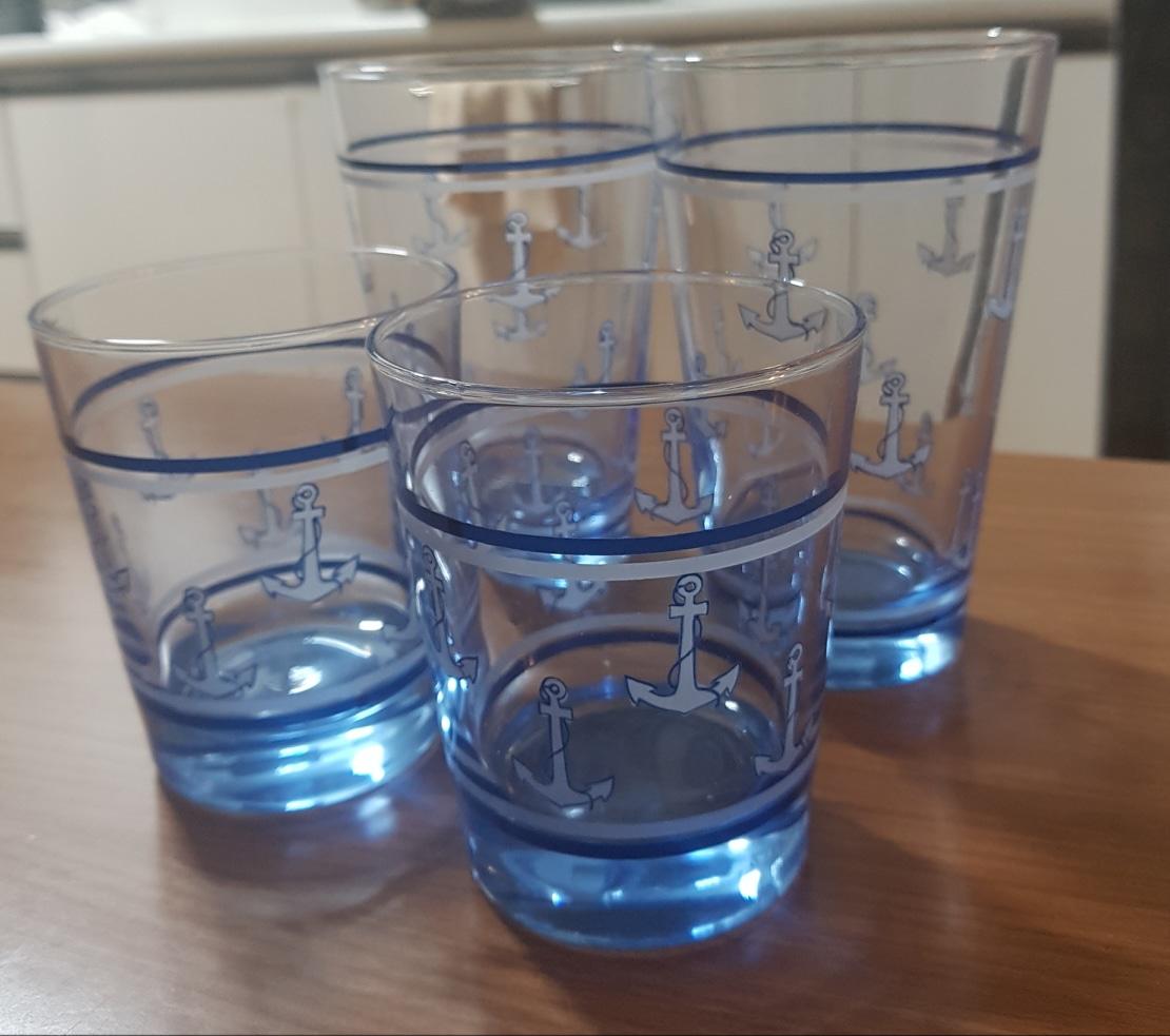 유리컵 컵4개 합친금액 유리컵 예쁜컵 고급그릇컵 유리잔 그릇