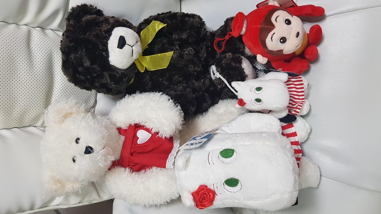 [미친!가격]❤인형 세트❤무민+코코몽+곰인형 열쇠고리