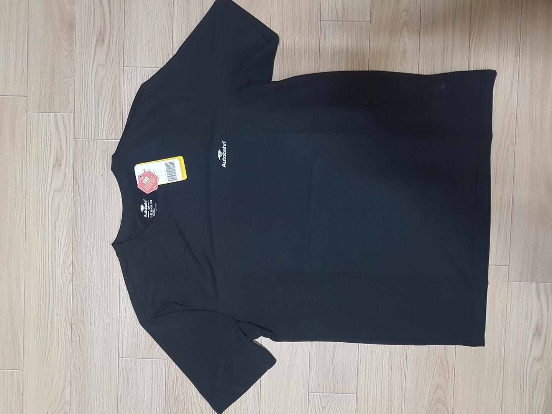 아우토반 라운드티 티셔츠 쿨티 블랙