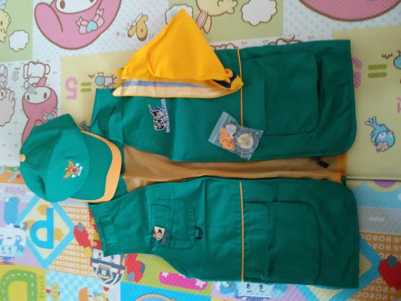 명예경찰 소년단 옷