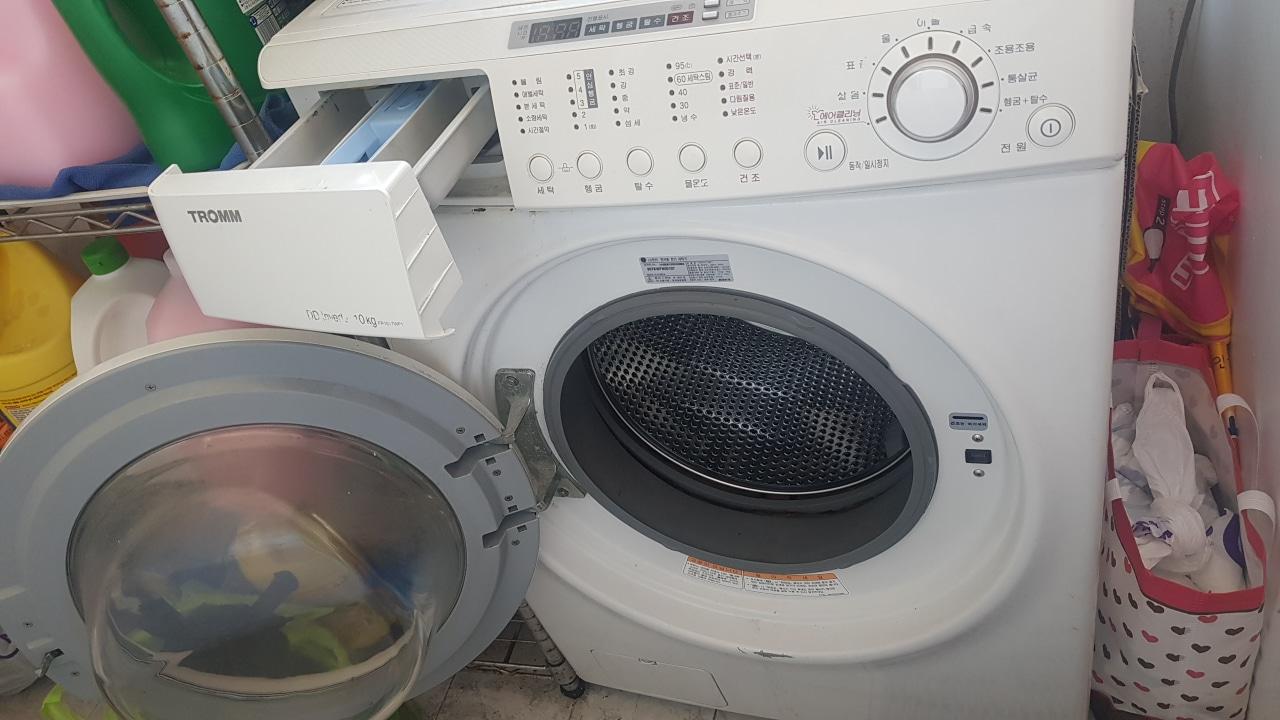 LG 트롬 드럼세탁기10kg
