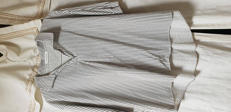 66~77가능 줄무늬 칠부