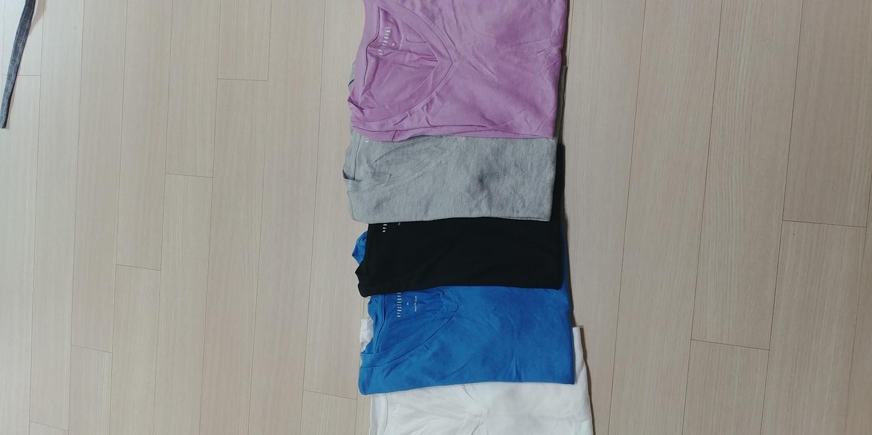 모달 티셔츠 5종