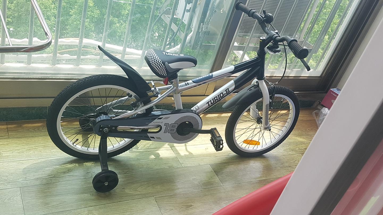미사용 어린이 자전거