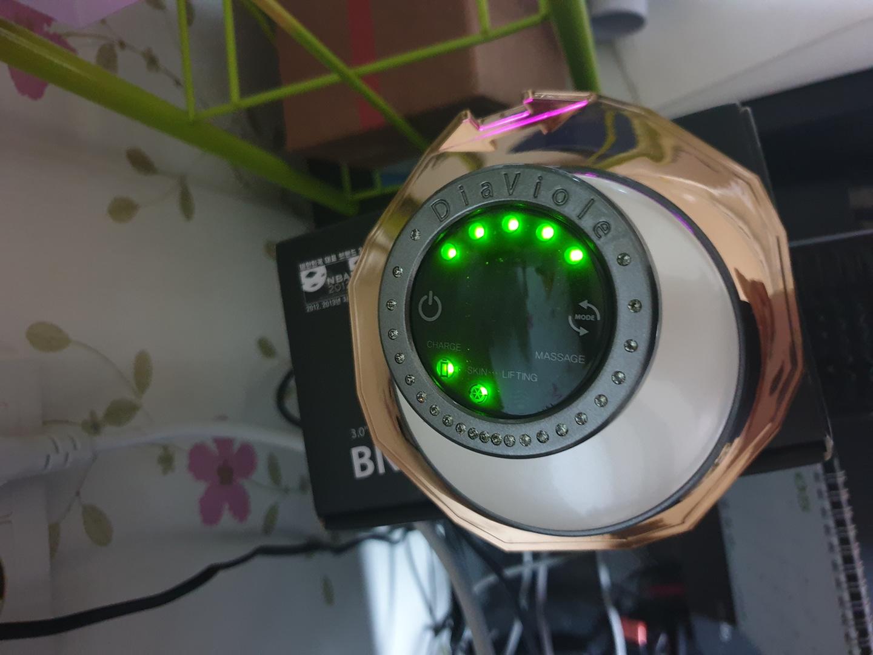 스와로브스키스톤 LED 마사지기+앰플10p새상품