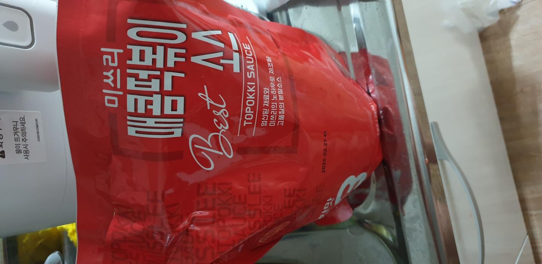 미쓰리 떡볶이소스 매콤한맛(가격내림)