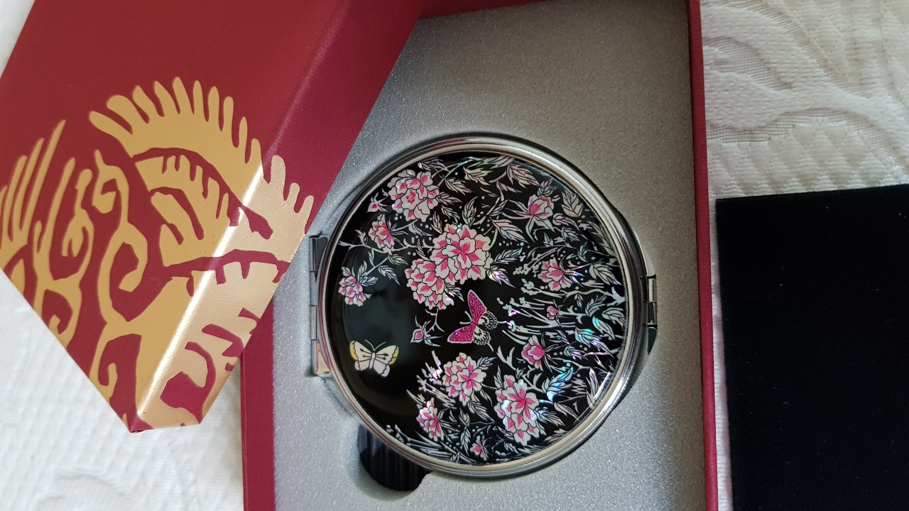 전통자개 손거울(새상품)