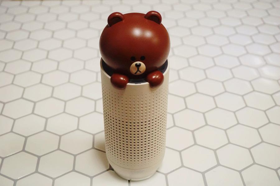 [새제품]라인프렌즈 휴대용 공기청정기