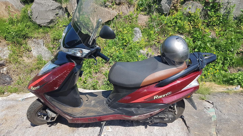 Raon100 오토바이