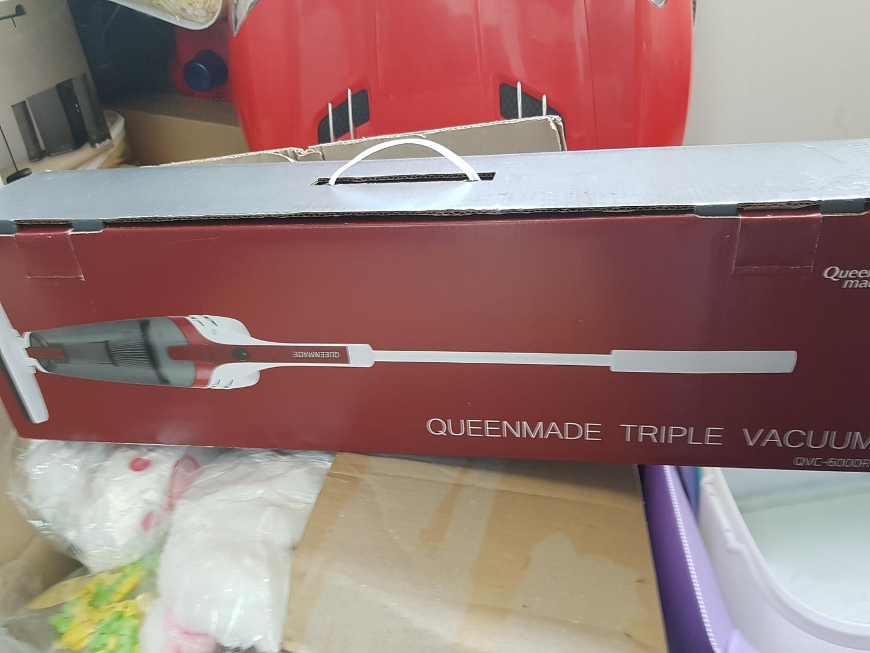 퀸메이드 트리플 파워 유선청소기