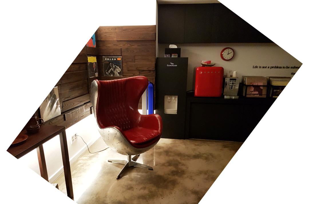 에비에이션 체어(의자)