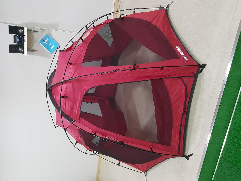 옥타돔s 레드 색상 텐트 판매