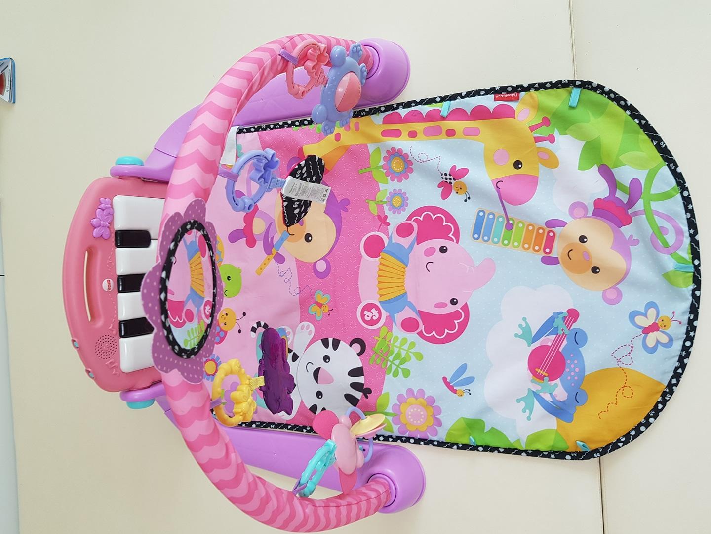 피셔프라이스 아기체육관 아기 피아노 체육관