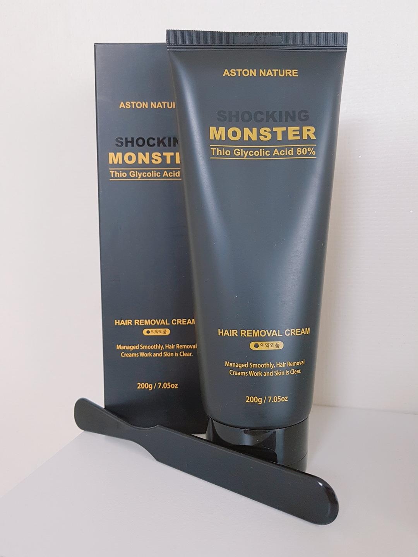 (미사용) 200g 대용량 몬스터 제모크림
