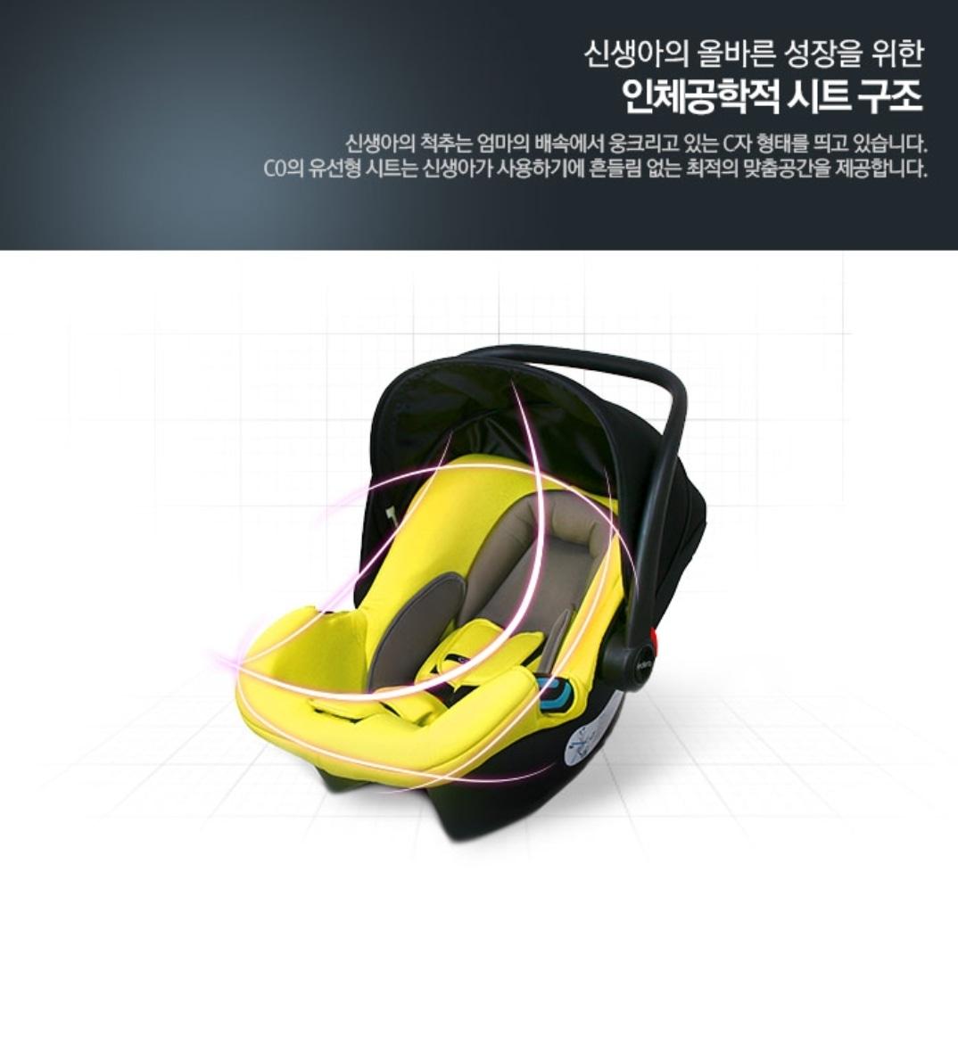 페도라C0 신생아 카시트(바구니카시트)