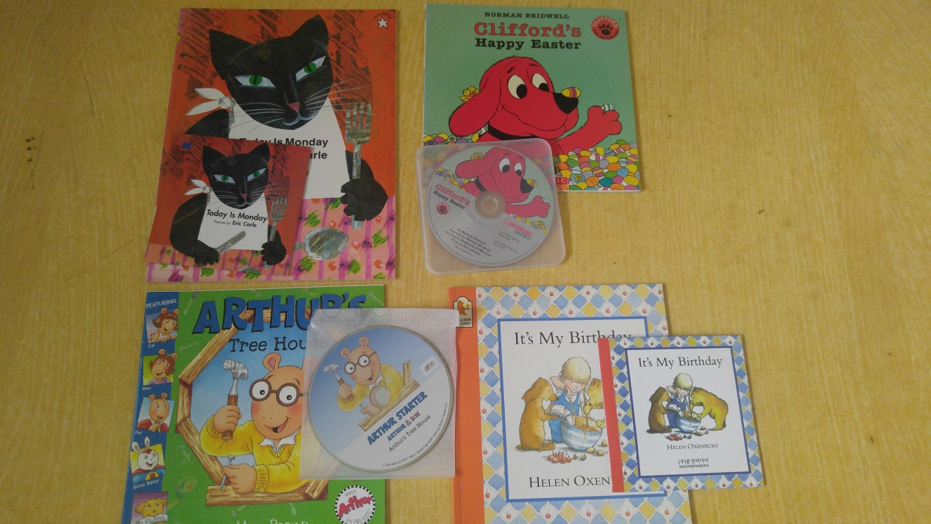 노부영 책과 CD