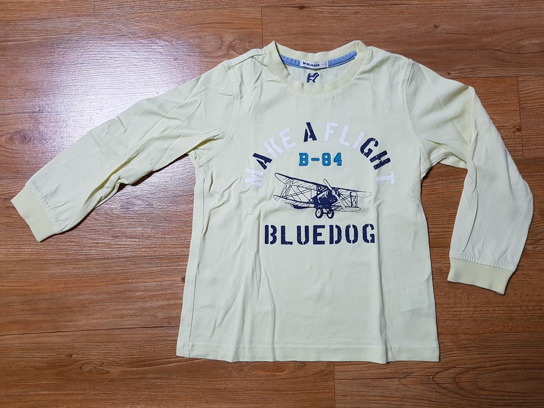 블루독 티셔츠,바지,룰라비 치마 등 키즈 110사이즈 각1만원입니다.