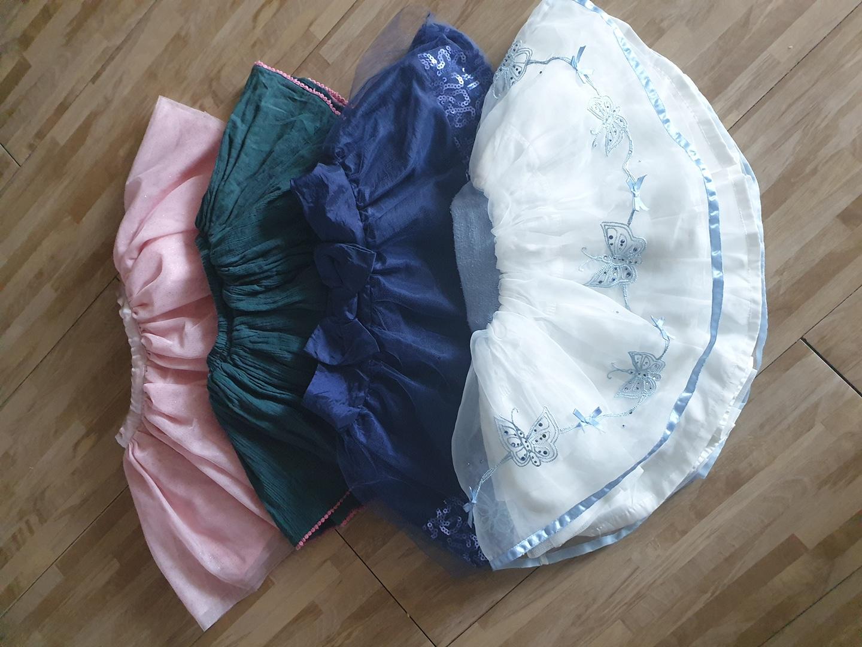 유아 2~3세 드레스 치마