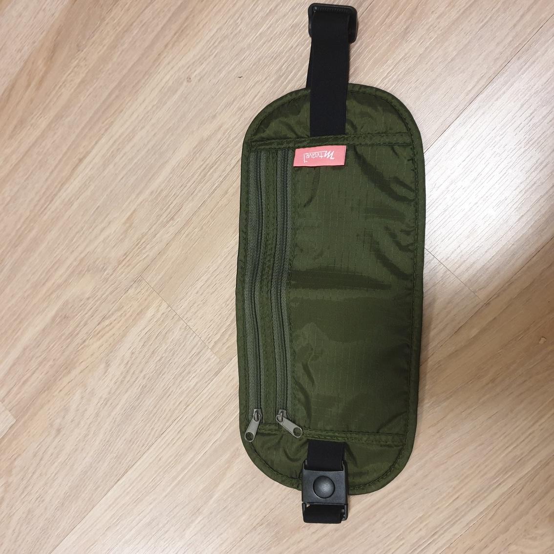 여행용 얇은 복대 /여행시 소매치기 방지 / 미사용