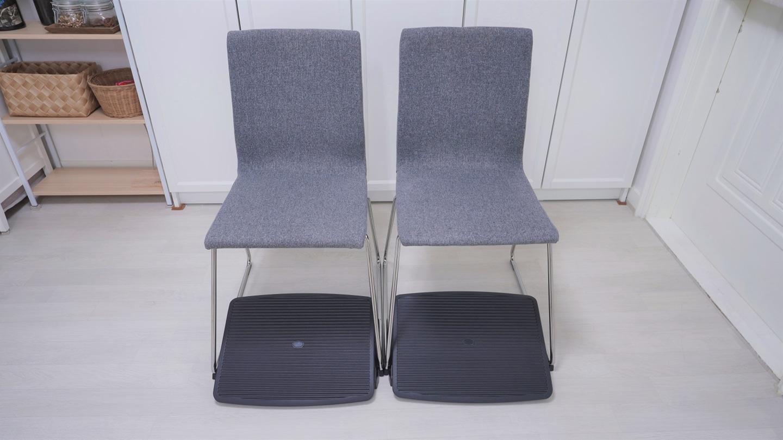 [A급] 이케아 VOLFGANG 볼프강 의자 2개 + 발받침대 2개 판매합니다.