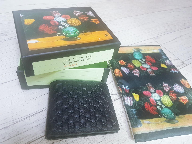 구찌 마이크로 시마 반지갑 새상품 급매