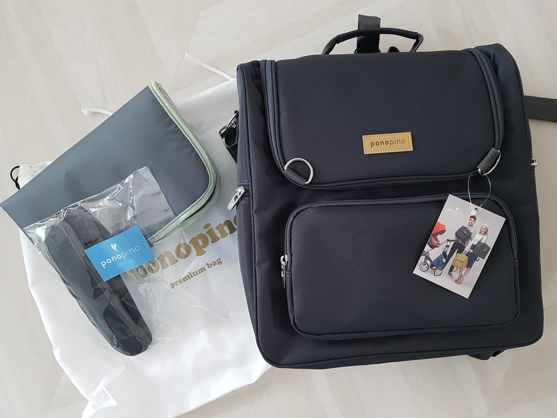 포노피노 프리미엄 기저귀가방 새상품