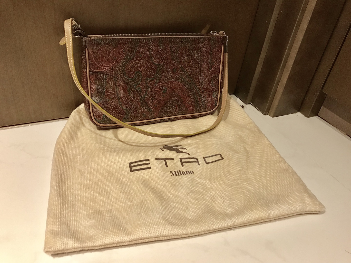 ETRO 에트로 페이즐리 백, made in Italy