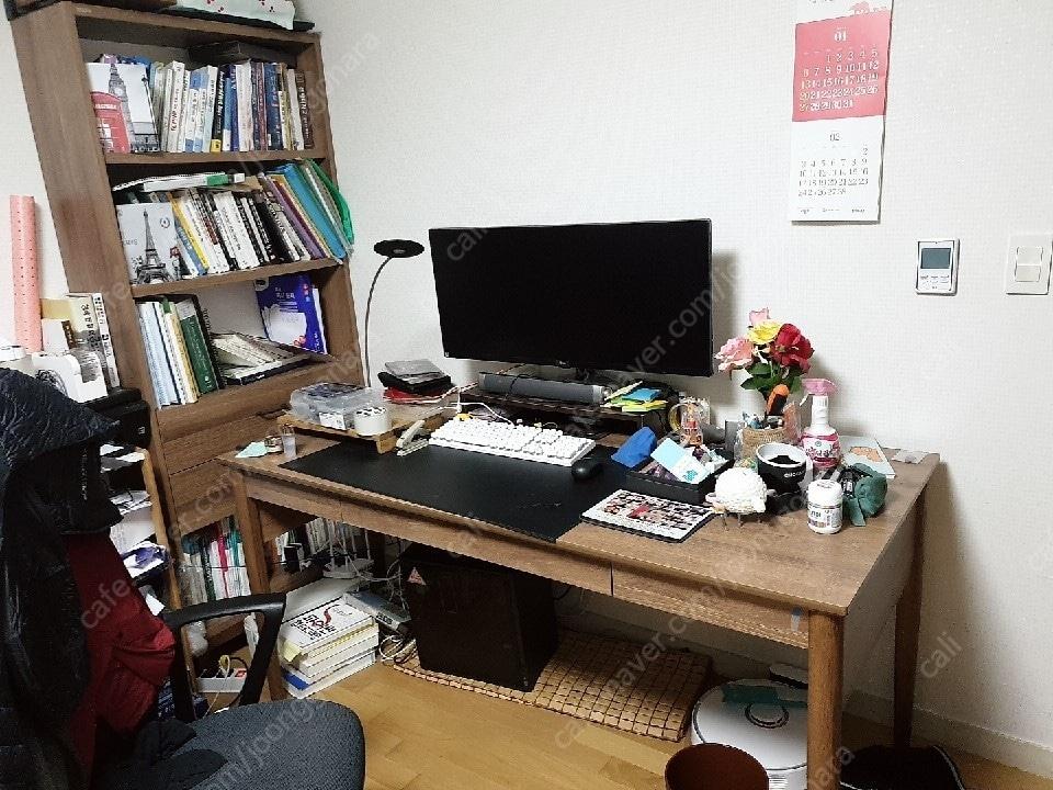 리바트 서재 책상 , 책장세트 판매해요
