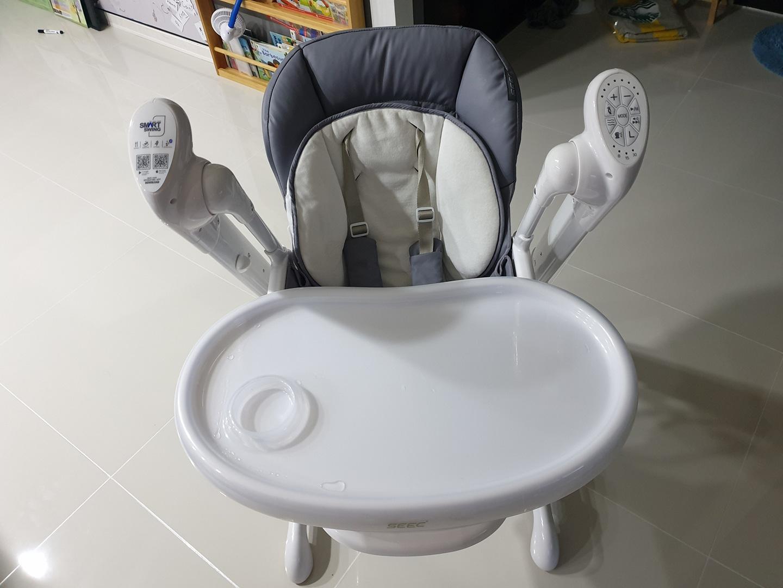 seec 스마트스윙 아기체어 의자