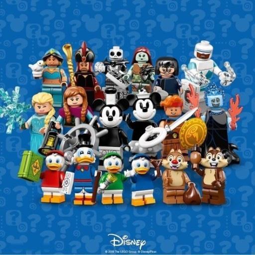 레고 미니피규어 디즈니2 1세트(18개)