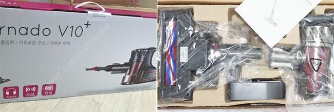 새상품-라헨느 NEW 무선청소기 토네이도 V10+ 판매합니다.