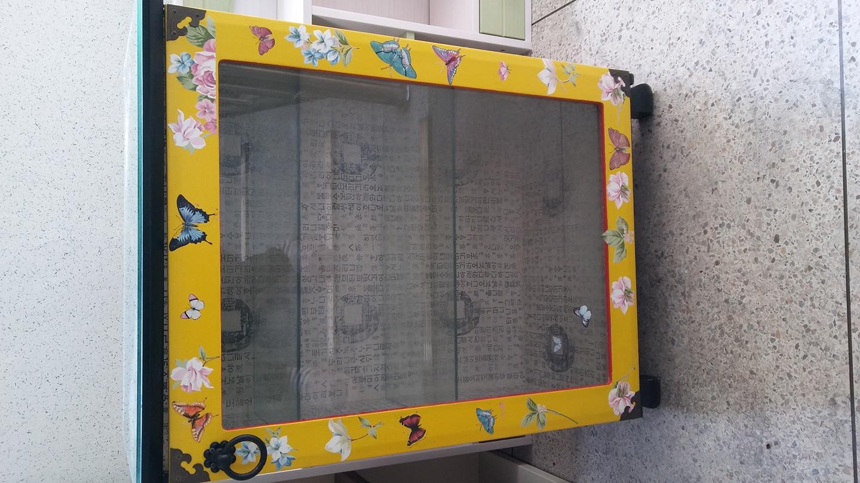 나비와 꽃 장식장 마지막 가격인하