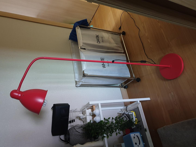 이케아 플로어 스탠드조명 LED전구포함