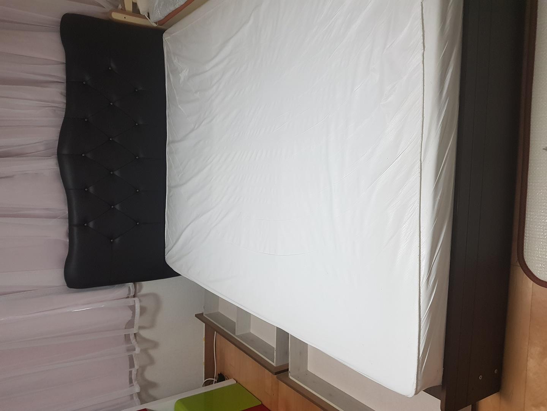 💓빨리가져가실분 대환영💓🎄최종가🎄(퀸사이즈)침대 평상형 와이드서랍+매트리스