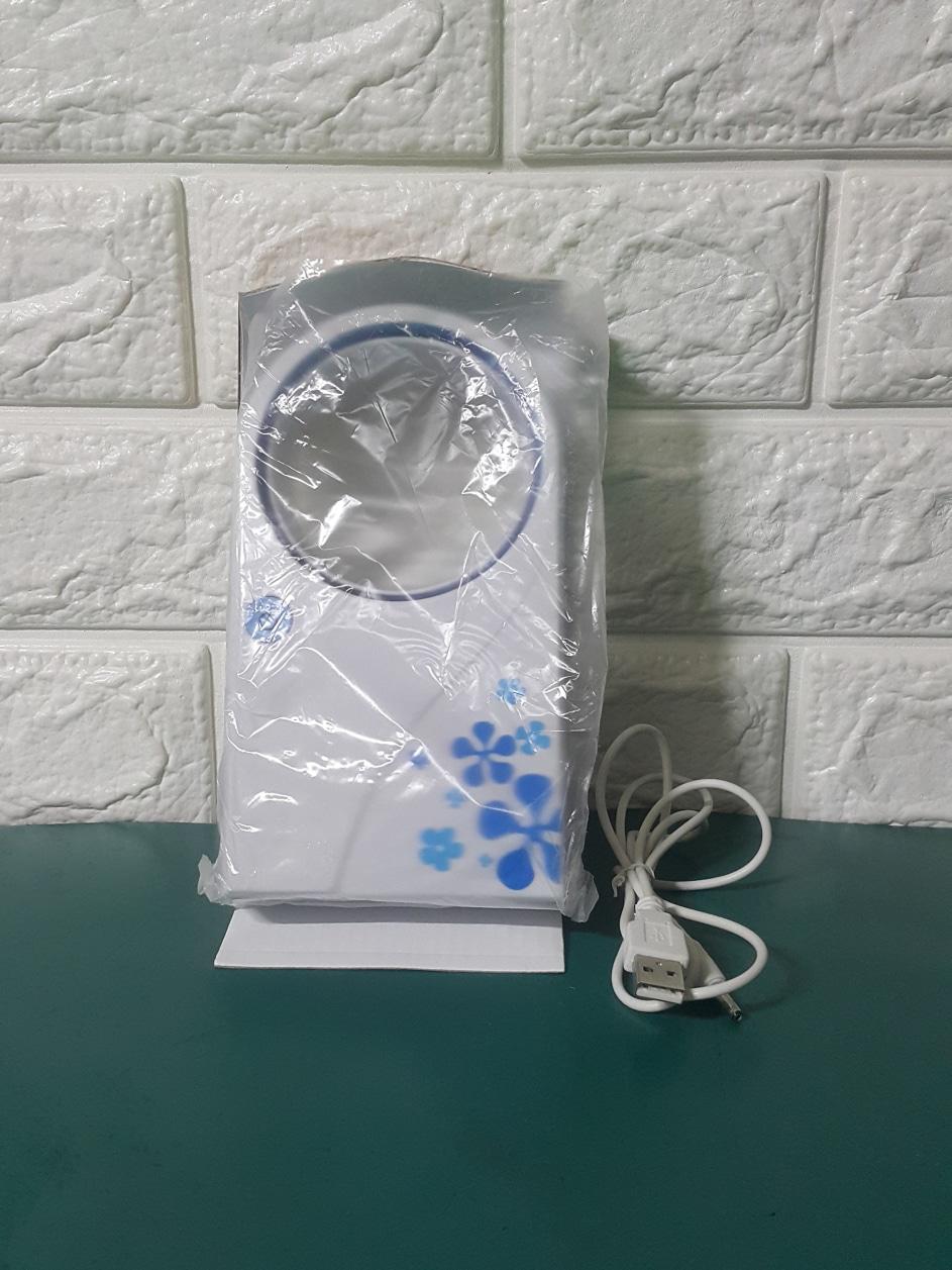 휴대용(Portable) 미니선풍기 NO LEAF AIR CONDITION 미사용 신품 2개(보라색,파란색)