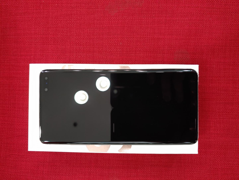 갤럭시10 5G 골드색상 핸드폰,휴대폰