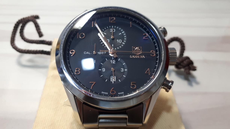 태그호이어 커레라 1887 메탈 쿼츠 시계 팜니다!