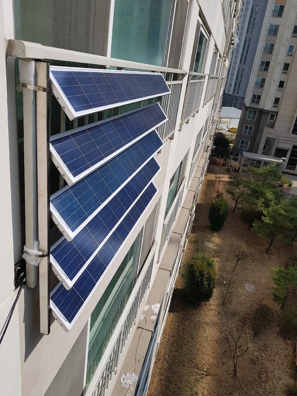 가정용태양광발전기 240W