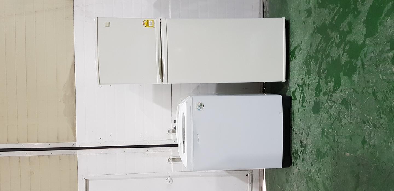 일문형냉장고+통돌이세탁기 세트판매. 파주중고가전 직거래매장