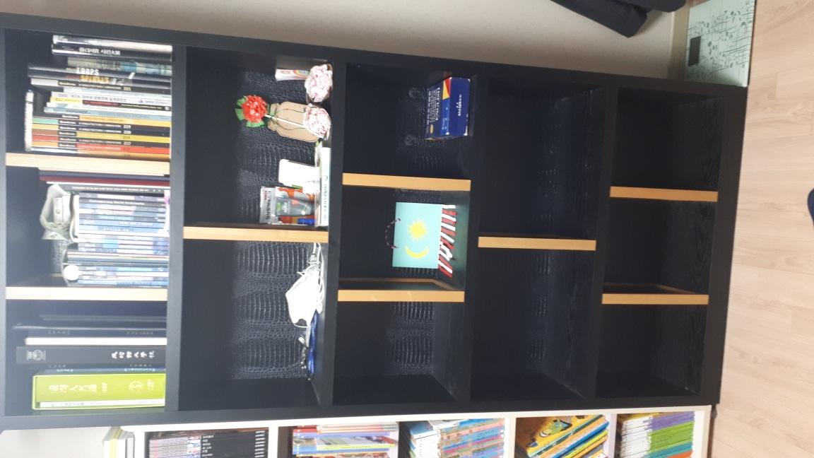 체리쉬 책상과 책장세트