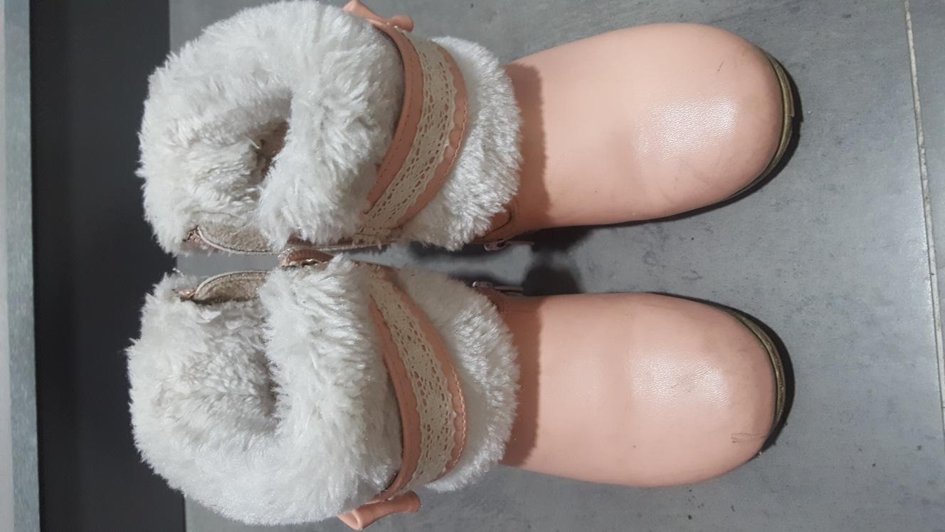 신발정리, 겨울 털 부츠(170)