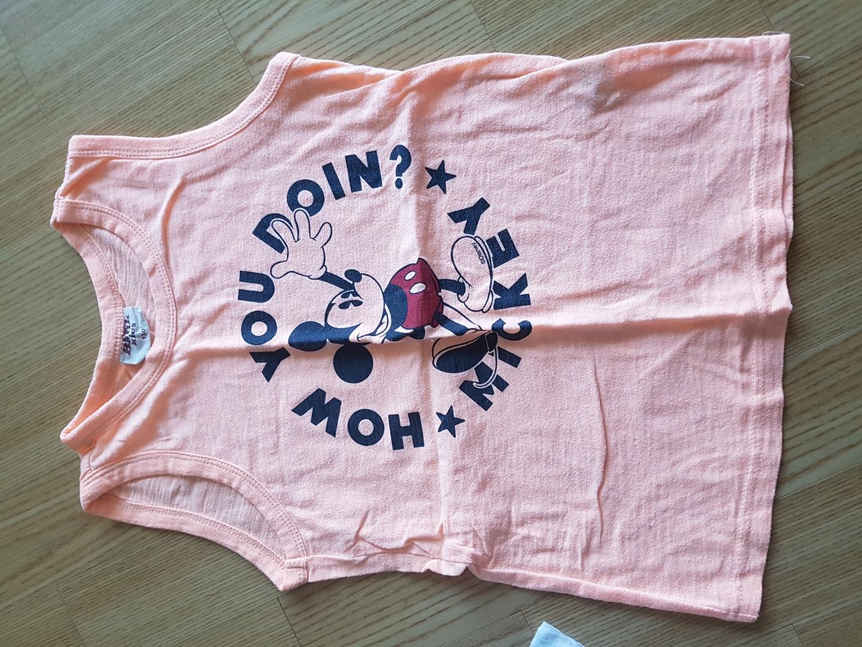 아동 나시티셔츠 반팔티셔츠
