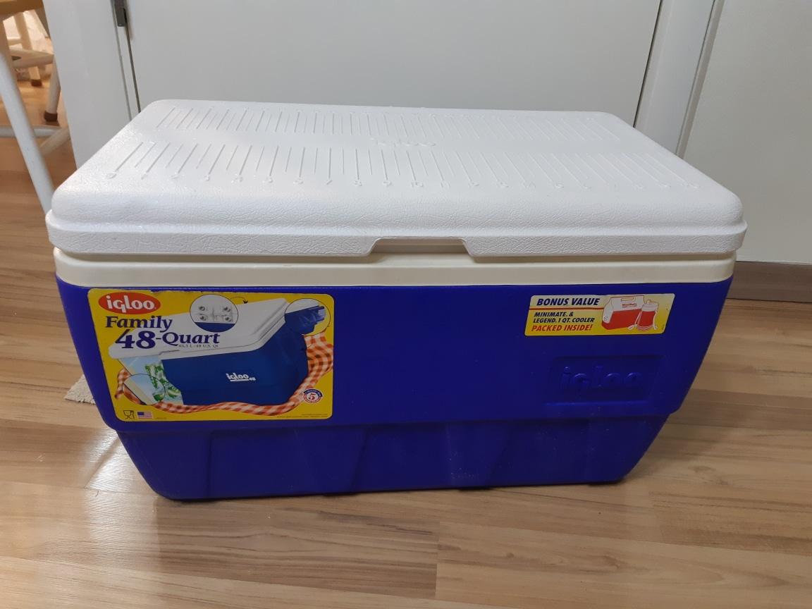 이글루 아이스박스 45.5리터