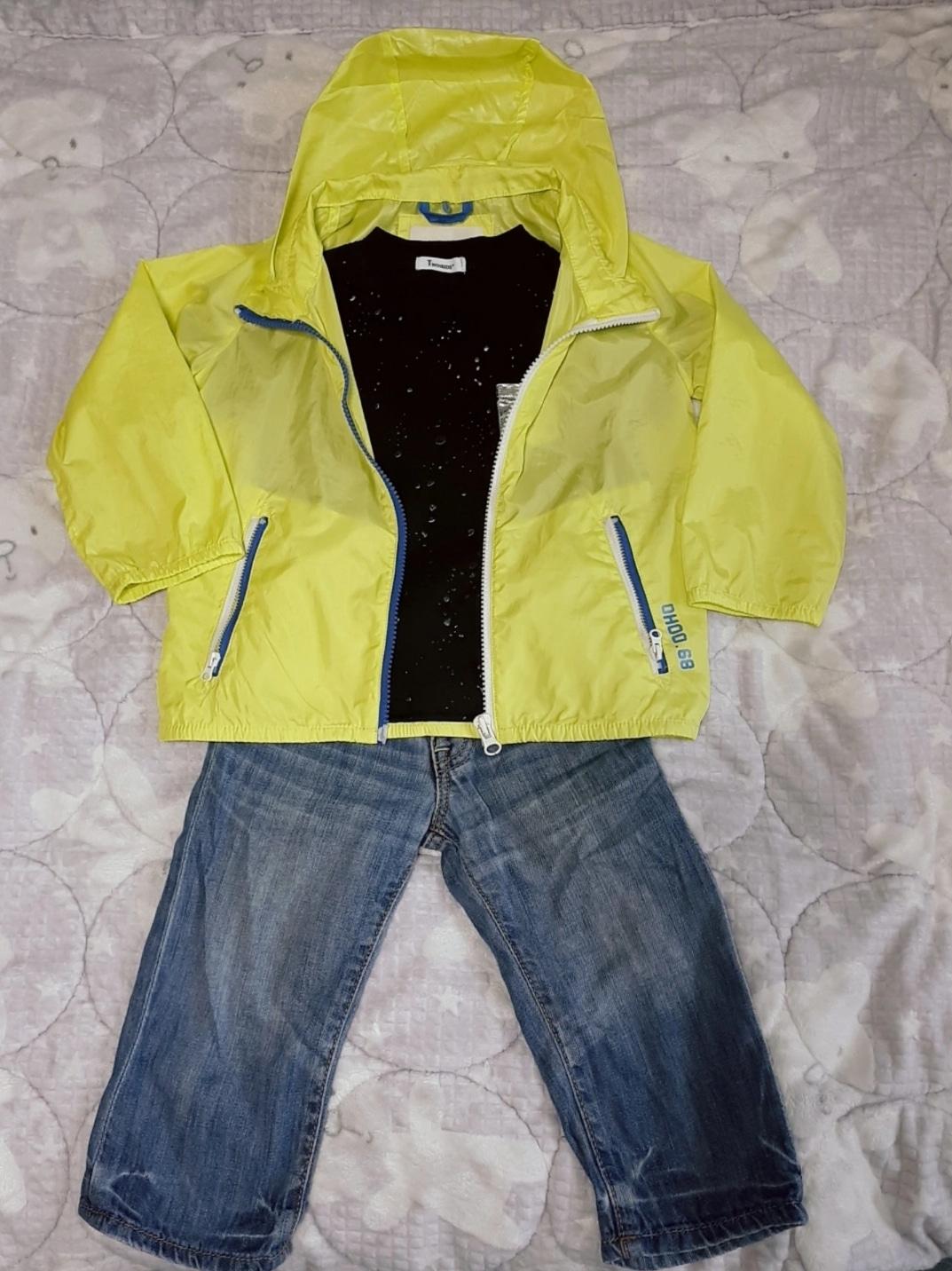 🎀반팔 티셔츠+칠부 청바지+바람막이 점퍼 (3~4세용)🎀