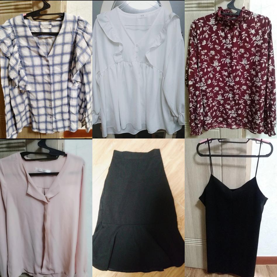 예쁜 여성옷 6개!!25.000원!!!