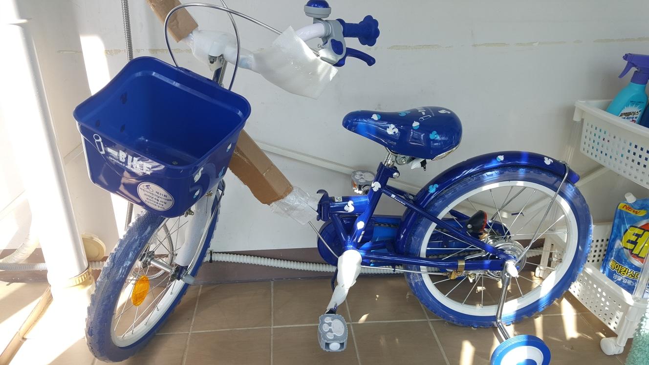 삼천리 i-바이크 접이식 어린이 자전거
