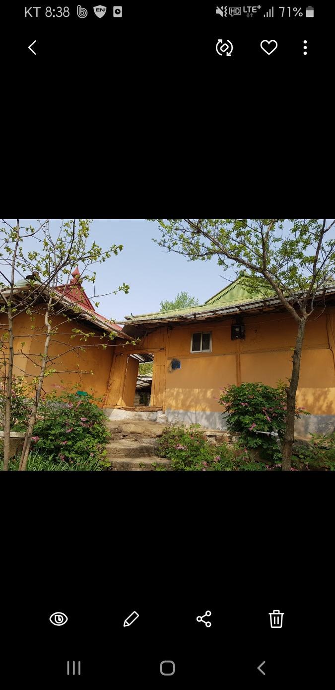 아주 오래된 시골집 전세 3500